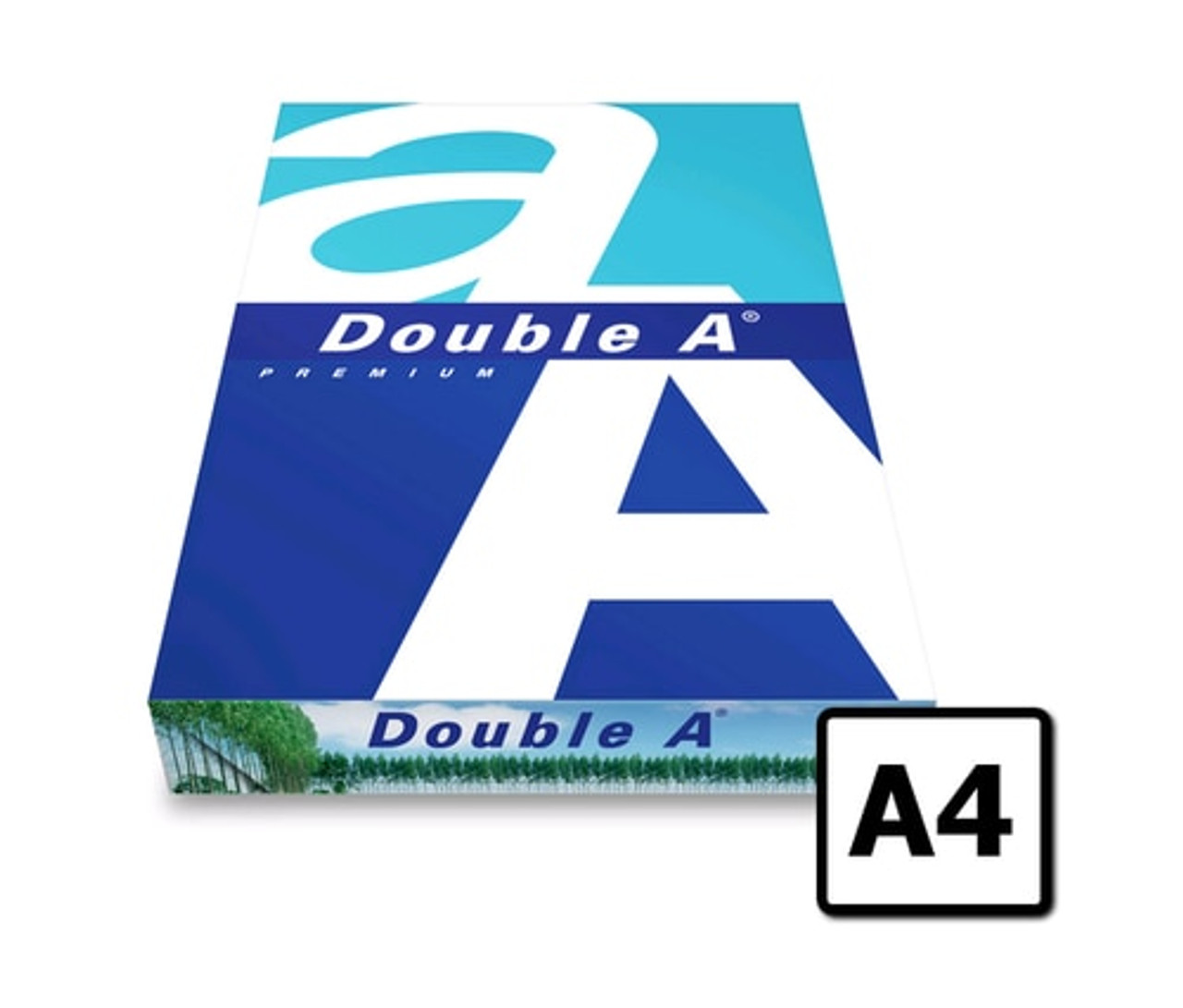 DOUBLE A SMOOTHER A4 COPY PAPER 80GSM WHITE 500 SHEETS