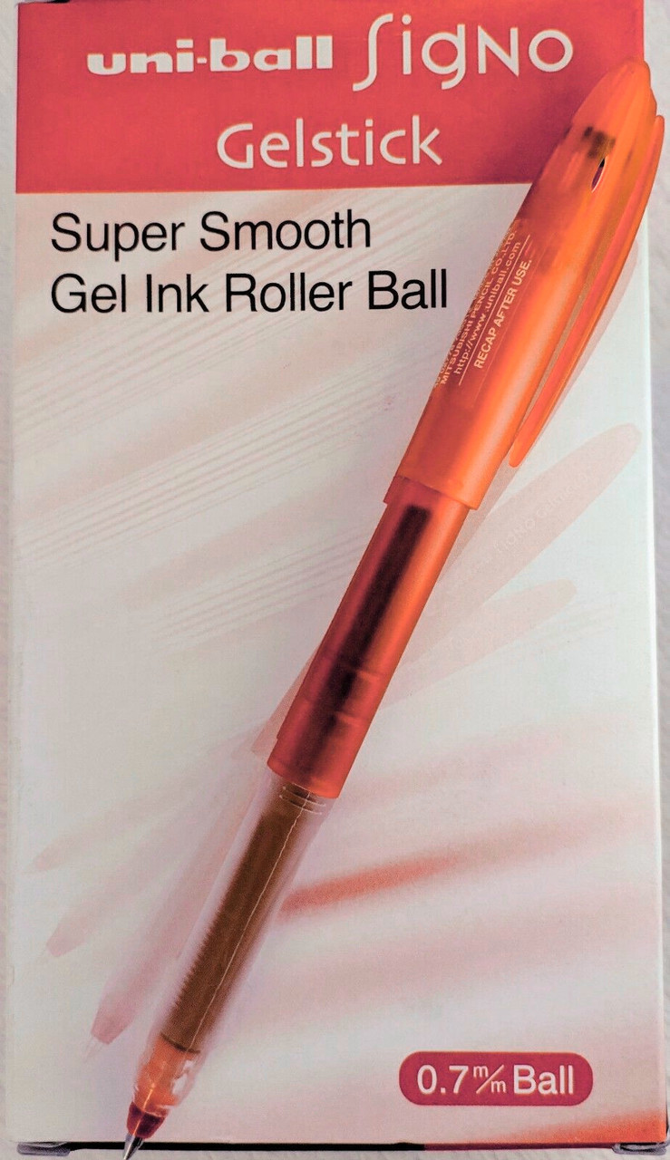Uni-Ball Signo Set of 9 Assorted Sparkling Glitter Gel Rollerball Pens UM-120SP