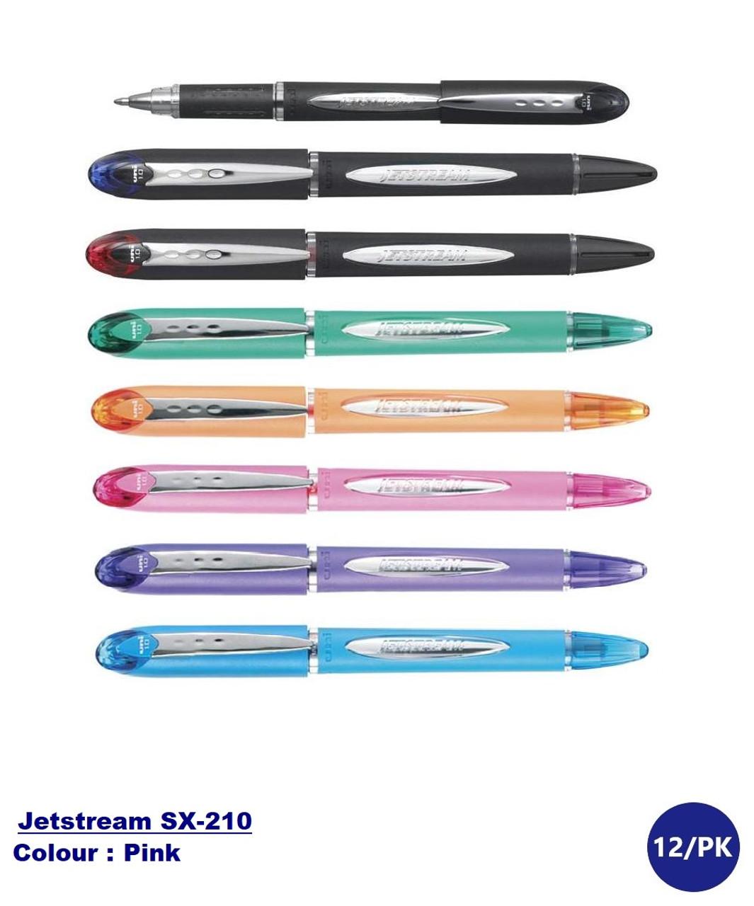 12 SXR-C1 refills pack for UNI-BALL  Jetstream 1.0mm ball point pen Red