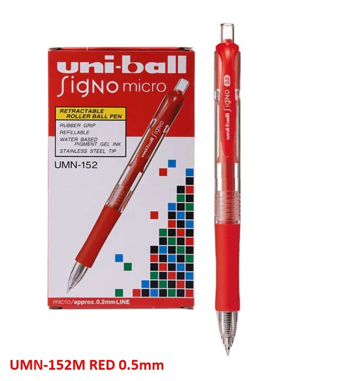 Christmas Gift For Dad Office RollerballPen Black Ink Fine Point 0.5mm With Box