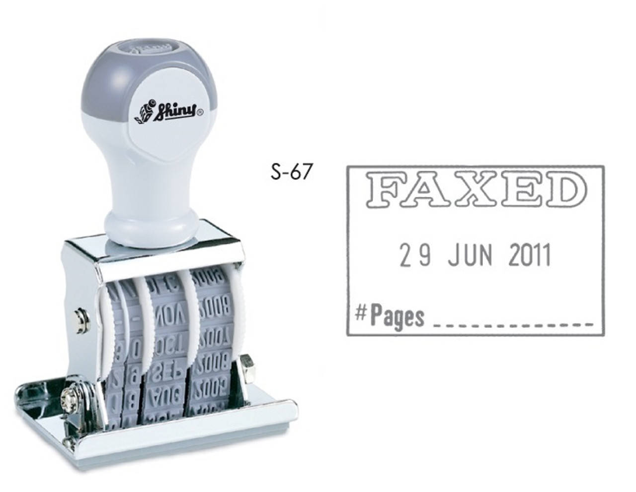 new style dd628 16397 STAEDTLER 9S67 DIE PLATE DATE STAMP WITH ADJUSTABLE DATE - FAXED