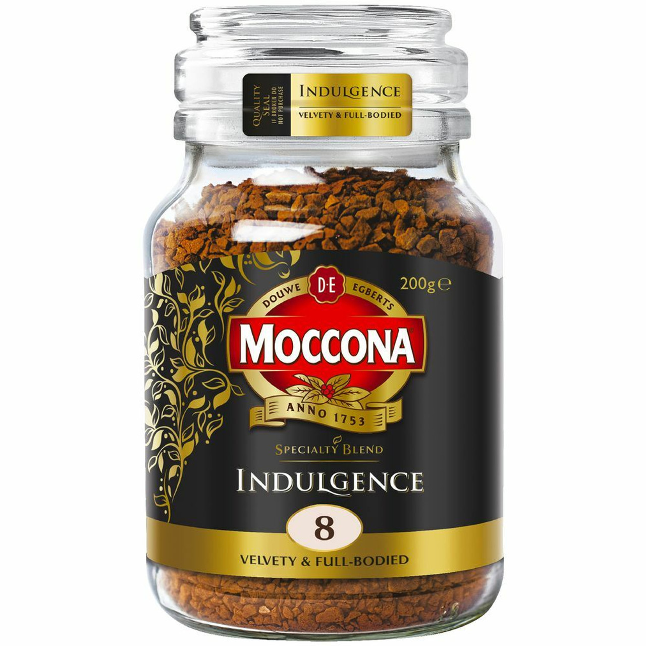 Moccona 33149 Coffee Indulgence Jar 200g Megax