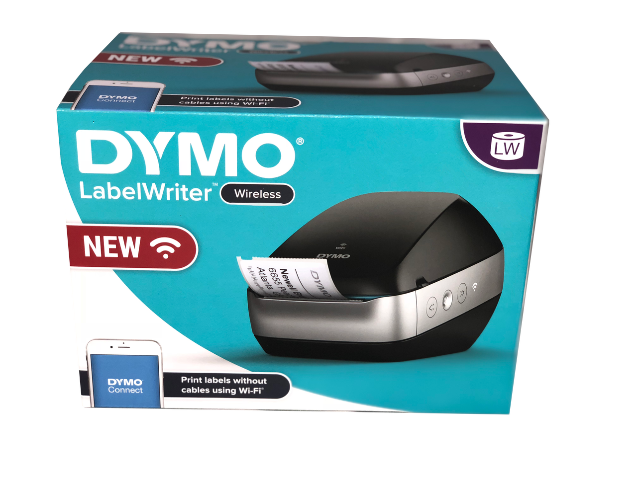 DYMO #2008209 LABELWRITER WIRELESS LABELLER PRINTER IN BLACK