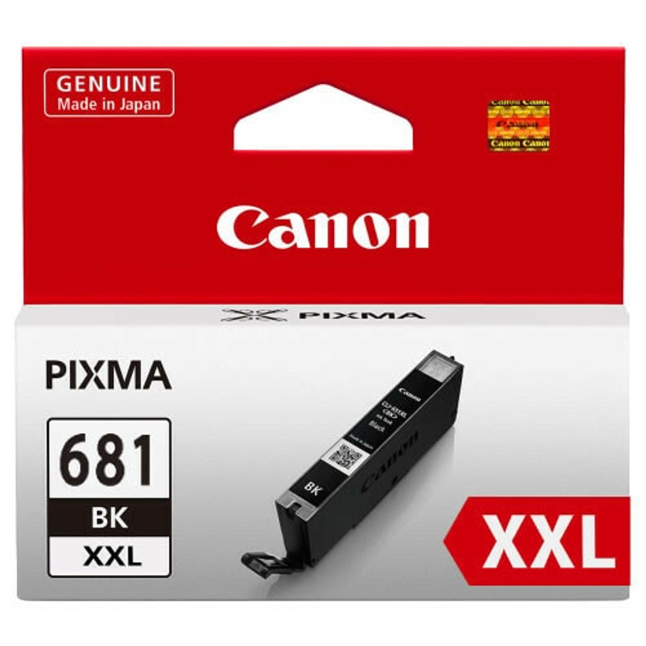 CANON #CLI681XXLBK EXTRA HIGH YIELD INK CARTRIDGE 6000 PAGES - BLACK