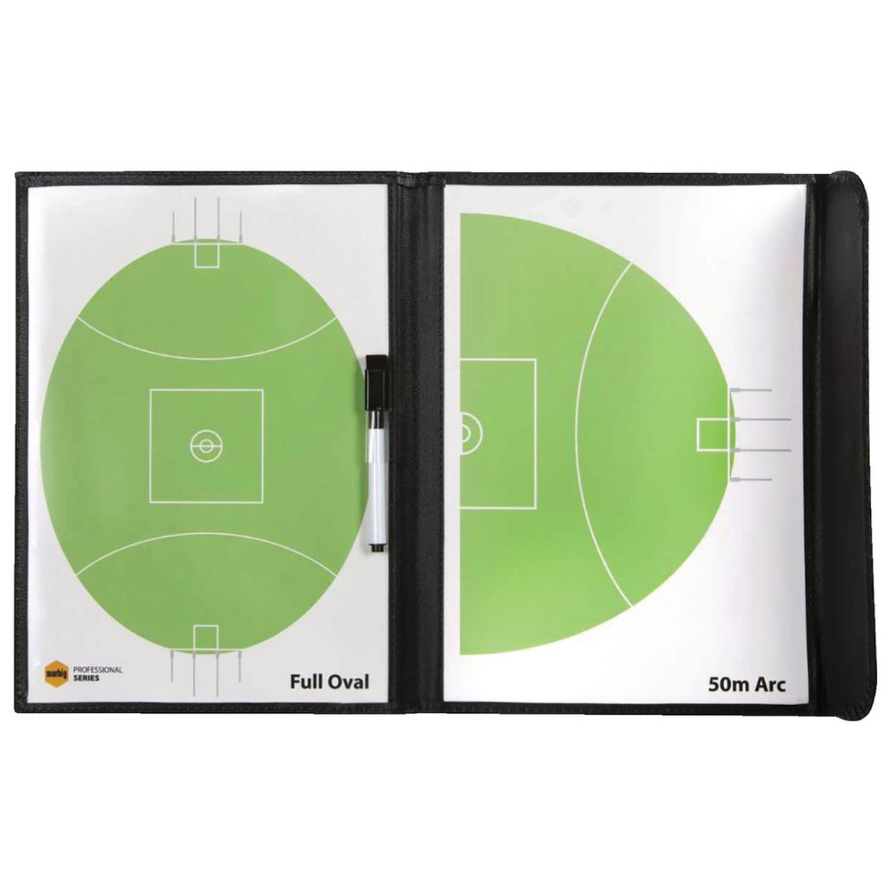 MARBIG© 4500003 SPORTS COACHBOARD AFL - CARTON OF 6
