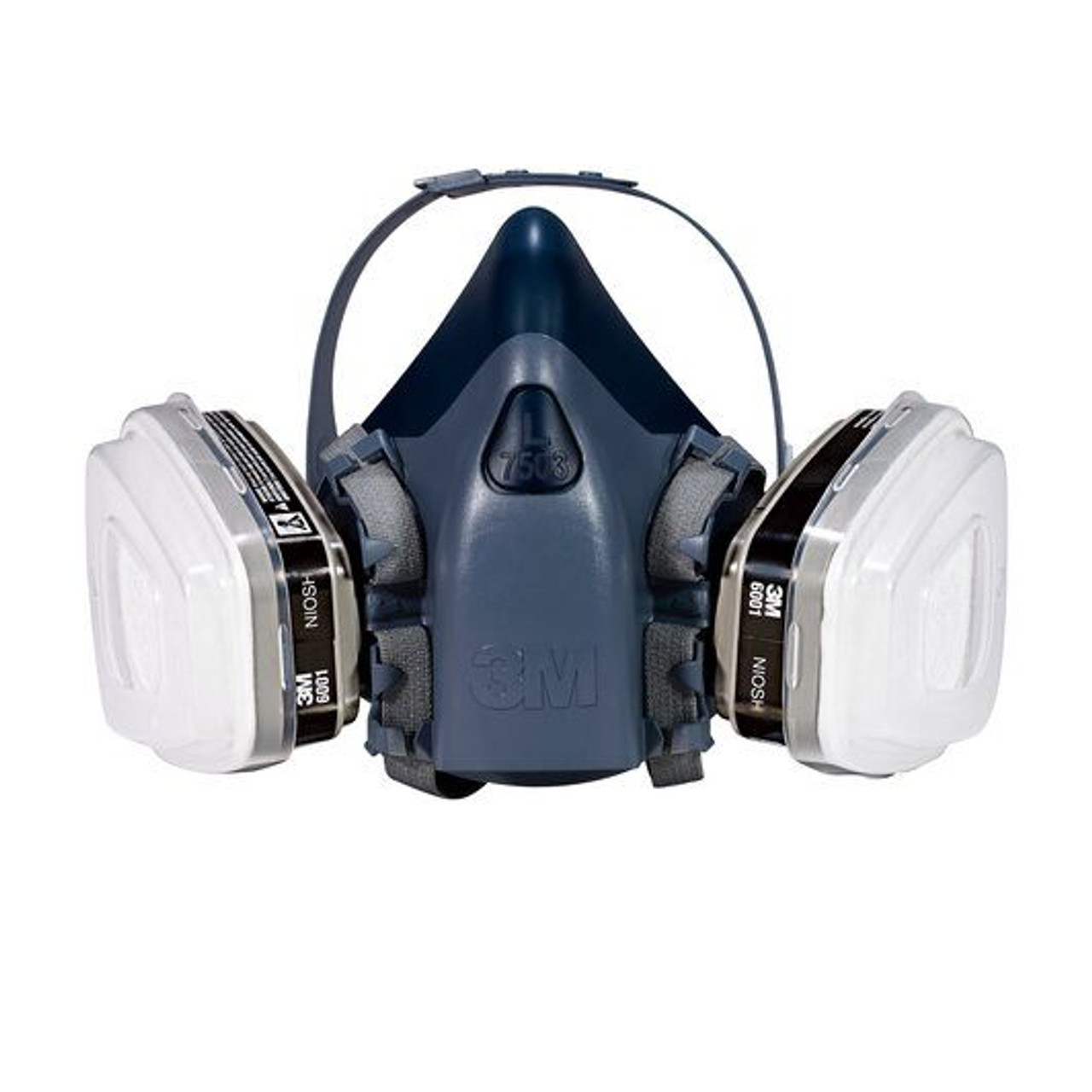3m 7500 series half mask respirator