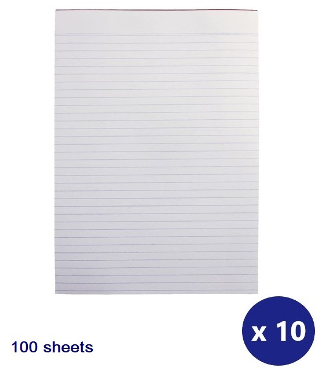 1 X 5 Star A4 Ruled Wirebound Notebook Pack Of 10 Office Work School Stationary