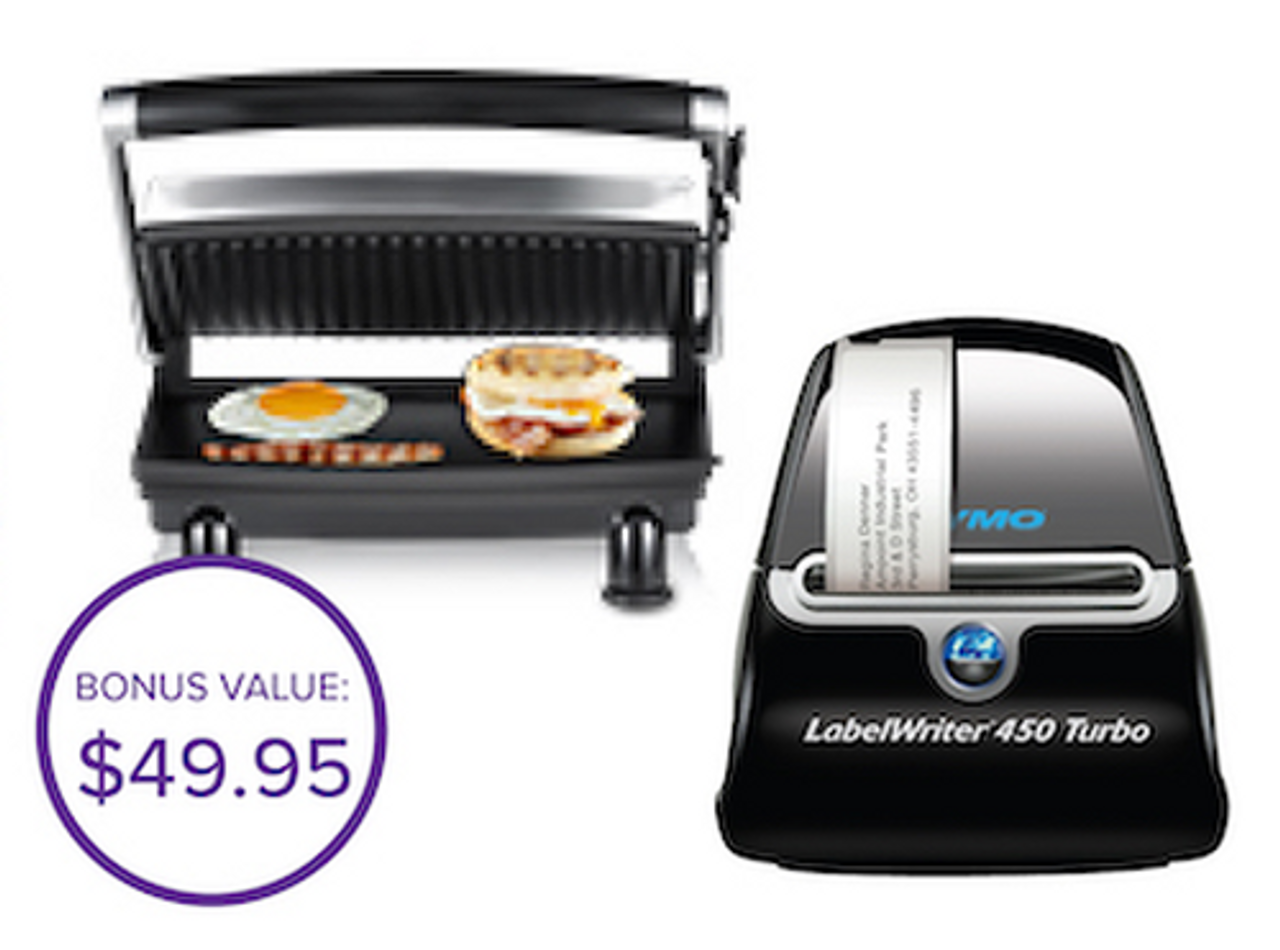 DYMO LABELWRITER 450T TURBO BUNDLED WITH GRILL (EACH)