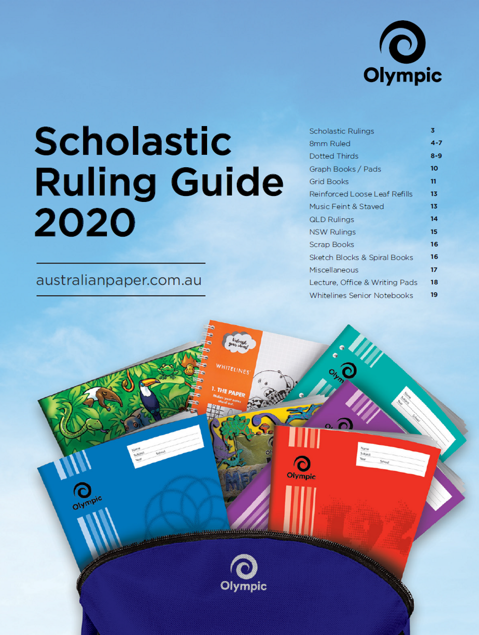 OLYMPIC SCHOLASTIC RULING GUIDE FOR 2020 BACK TO SCHOOL
