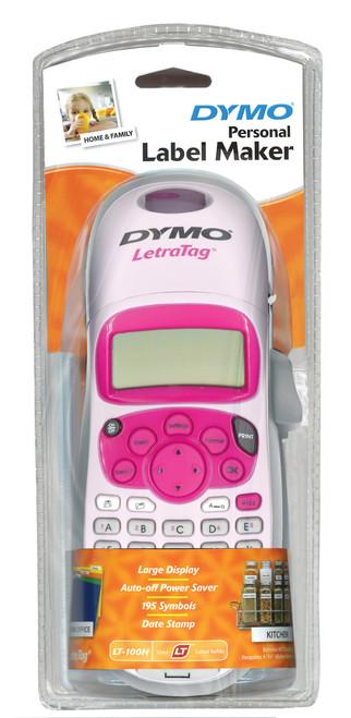 Dymo #Sd911100 Letratag Labeling Machine Lt100-H Handheld