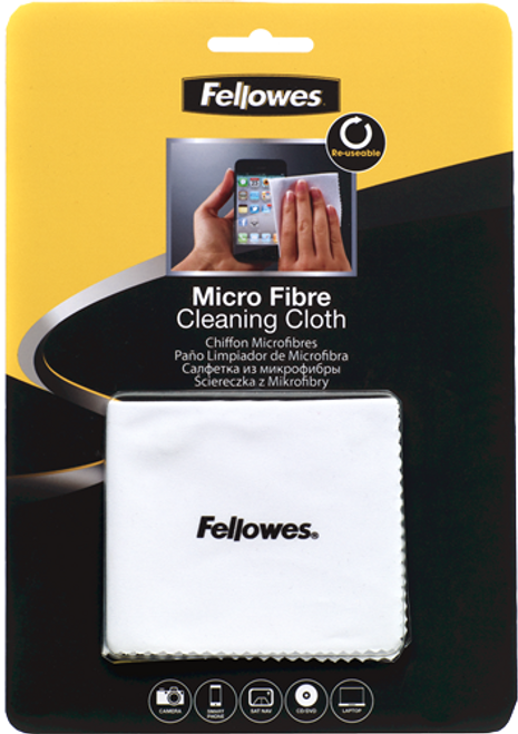Fellowes #2211716 Screen Cleaning - Antibacterial - 75 Wipe