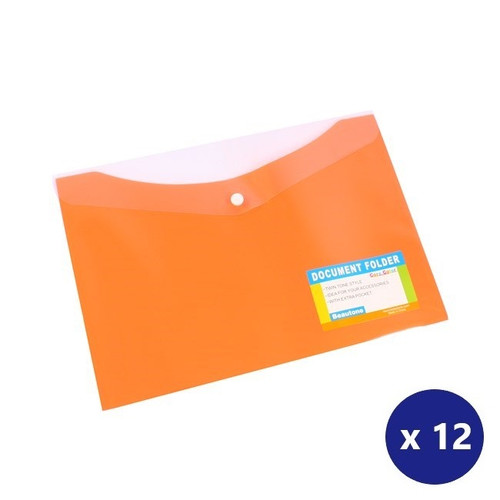 3 STRONG PLASTIC DOCUMENT HOLDER//ENVELOPE//FOLDER pp-FASTENER-TO HOLD A4 PAPERS
