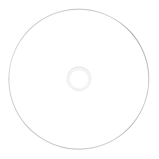 image regarding Inkjet Printable Cd identified as VERBATIM 95252 CD-R INKJET PRINTABLE WHITE - 100 PACK SPINDLE