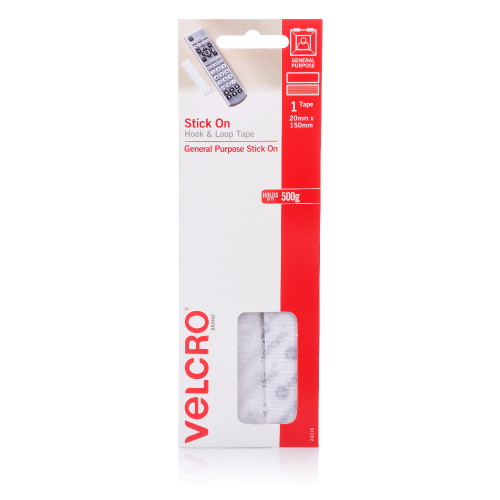 500 Set Heavy Duty Self Adhesive Sticky Back Hook /& Loop Fastening Tape 2 in1 UK