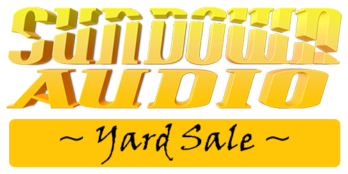Sundown Audio Yard Sale