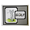Golfer Black & White