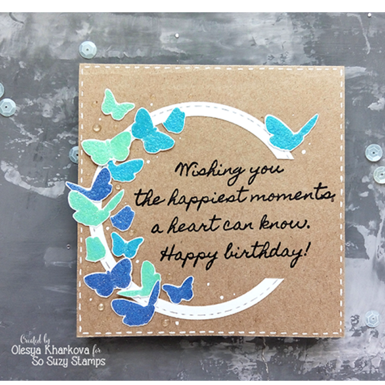 Butterfly Flutter by Olesya - Crackerbox & Suzy Stamps