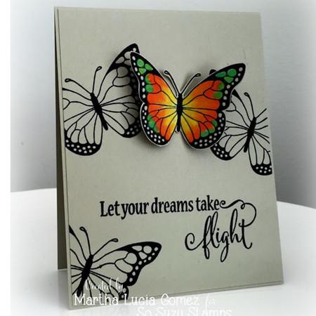 Take Flight with Monarch by Martha