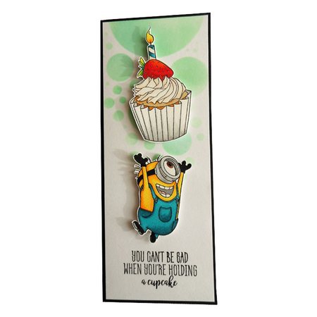 Holding a cupcake by Giada