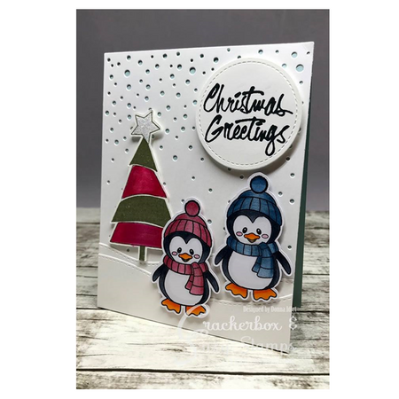 Christmas Greeting with Penguin