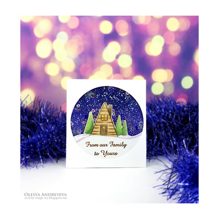 Day 4 of 10 Cards by Olesya