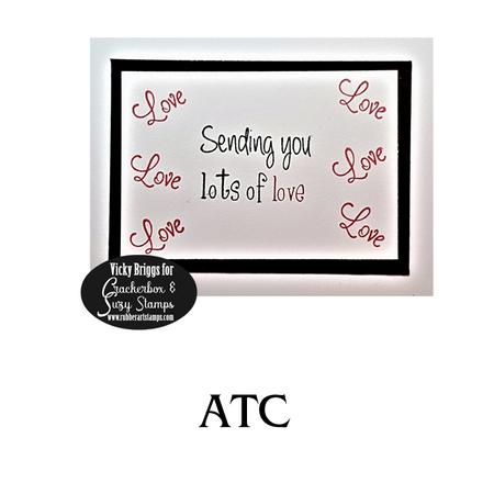 Lots of Love ATC