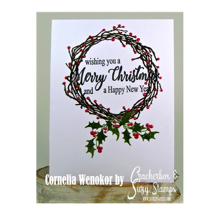 Wishing Christmas Wreath