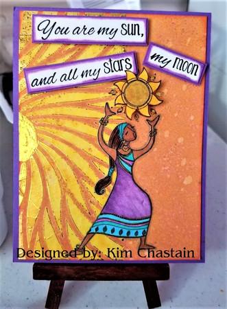 Goddness of Sun by Kim