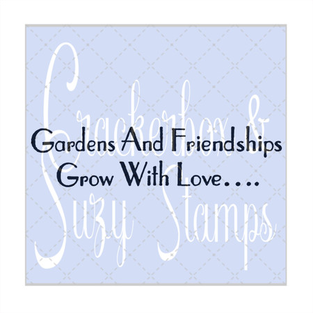 Gardens and Friendships
