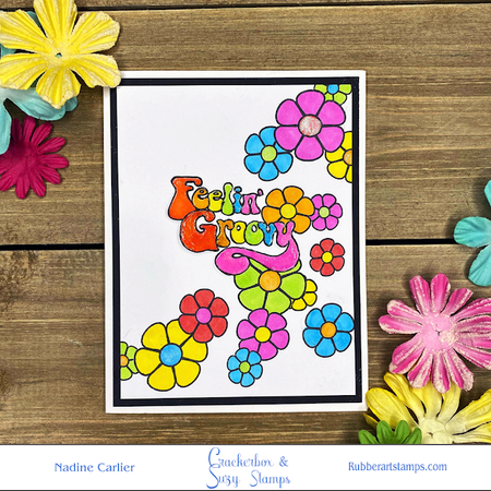Feeling Groovy with Bright Flowers