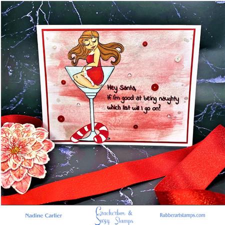 Sexy Christmas Card