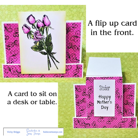 Stamps Used: Tulips Big Sister Mother's Day Casual