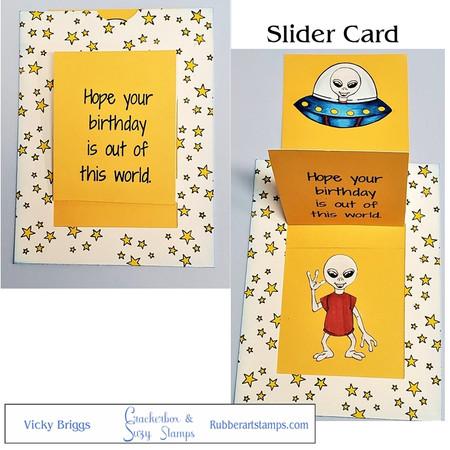 Alien Slider Card