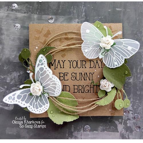 Vellum Butterflies by Olesya