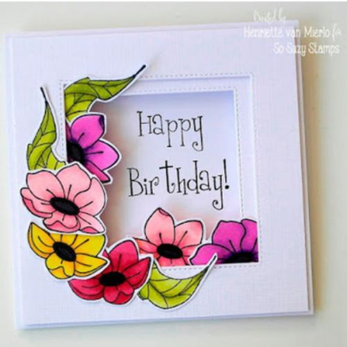 Birthday Blooms by Henriette