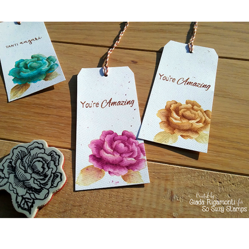 Watercolor Tags by Giada