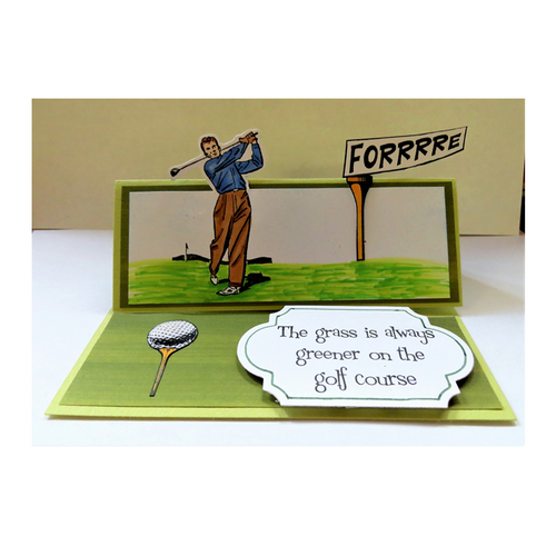 Fore Stand UP card