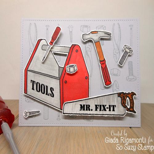 Tools card by Giada