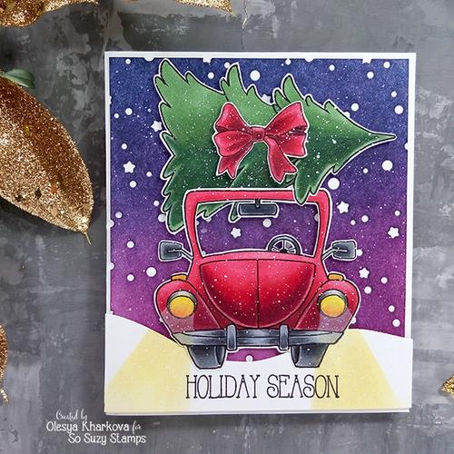 Holiday car by Olesya