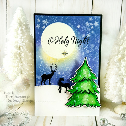 Holy night scene by Terri