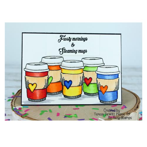 Teresa Coffee Cup Rainbow