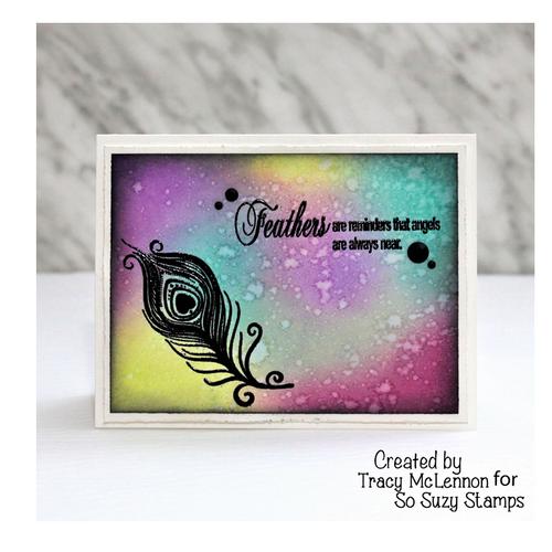 Tracy Feather Sympathy card