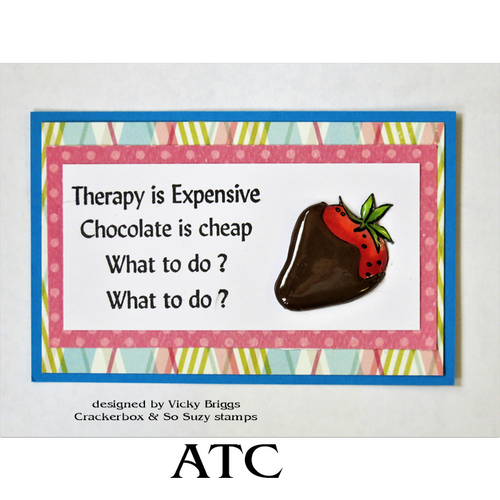 Chocolate Therapy ATC
