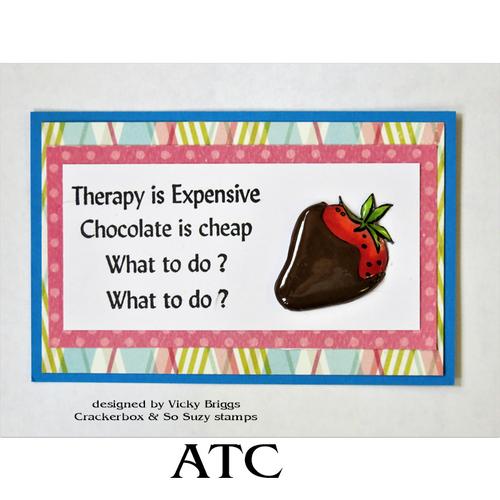 Chocolate Therapy ATC