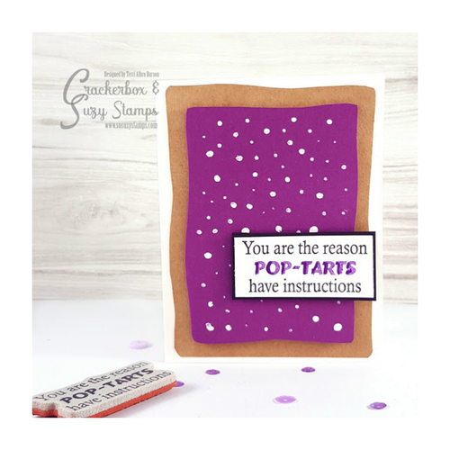 Grape PopTart