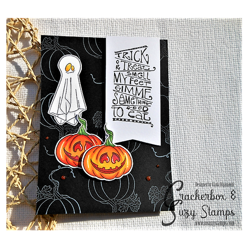 Trick or Treat with Ghosts and Pumpkins