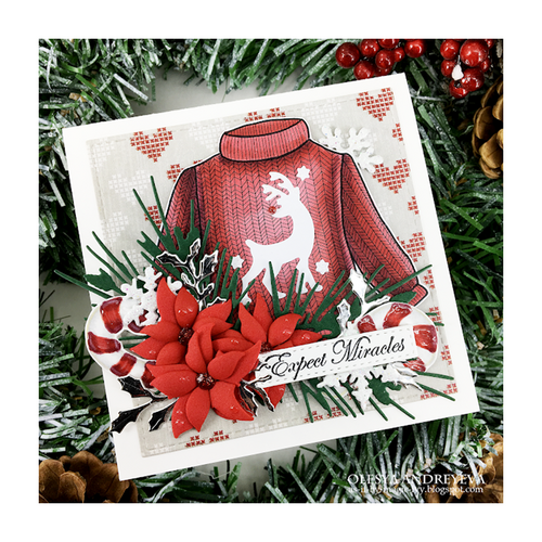 Day 5 of 10 Cards by Olesya