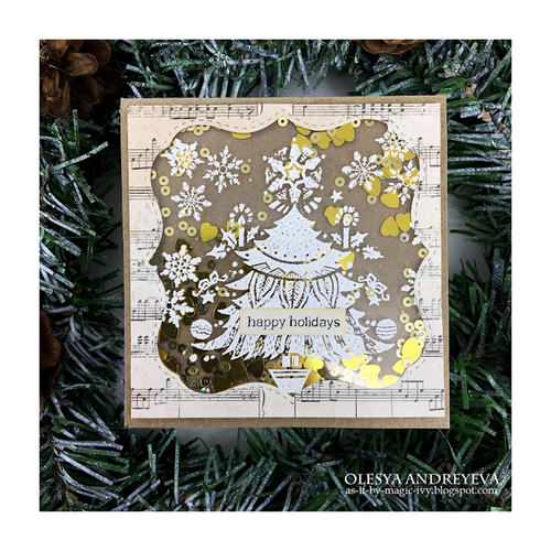 Day 6 of 10 Cards by Olesya