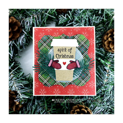 Day 8 of 10 Cards by Olesya