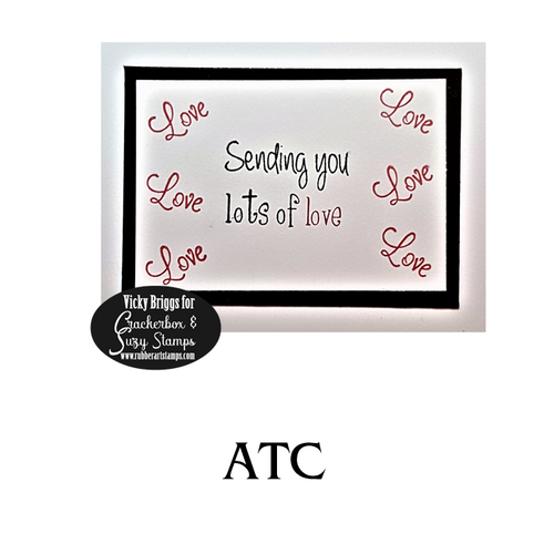 Lots of Love ATC